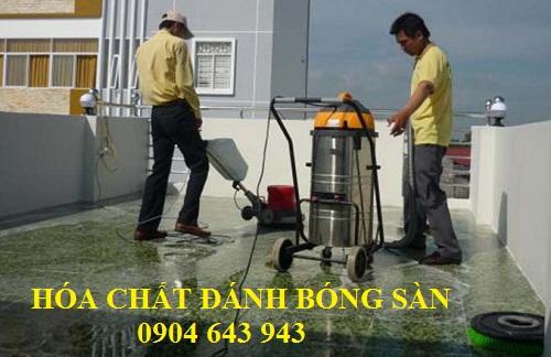 hóa chất đánh bóng sàn