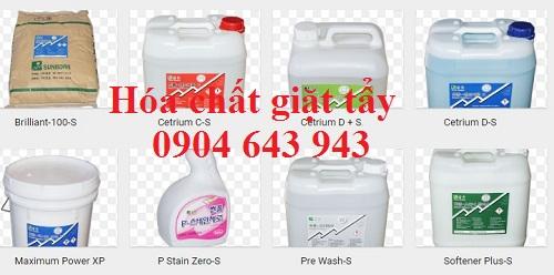 hóa chất giặt tẩy