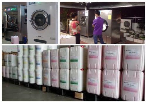 nước giặt công nghiệp
