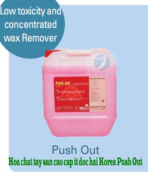 Low toxicity and concentrated wax Remover PUSH OUT